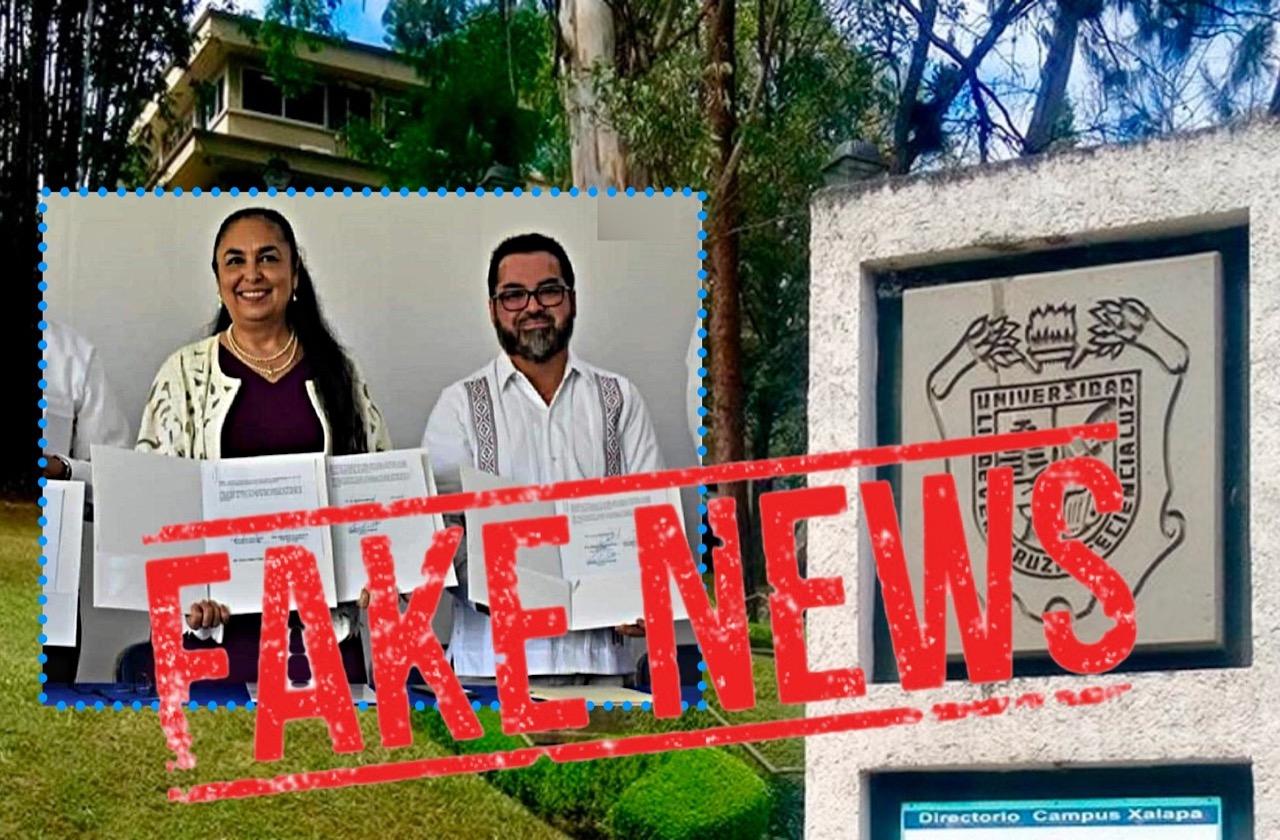 Alcalde de Morena miente y anuncia creación de Campus UV en Agua Dulce