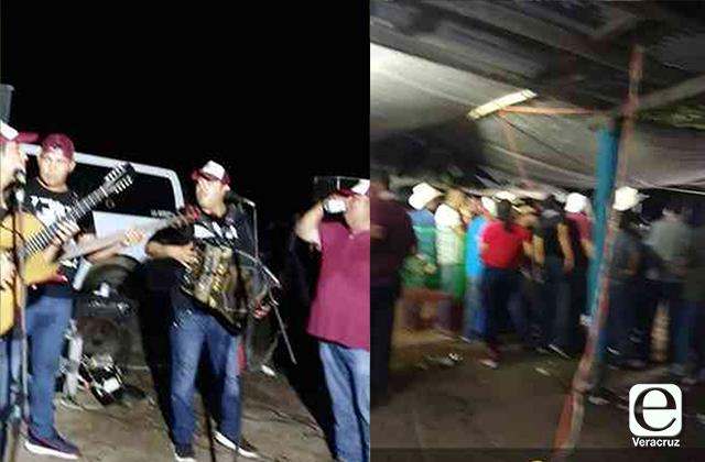 Banda y muchos invitados: así celebró alcalde de Tampico Alto