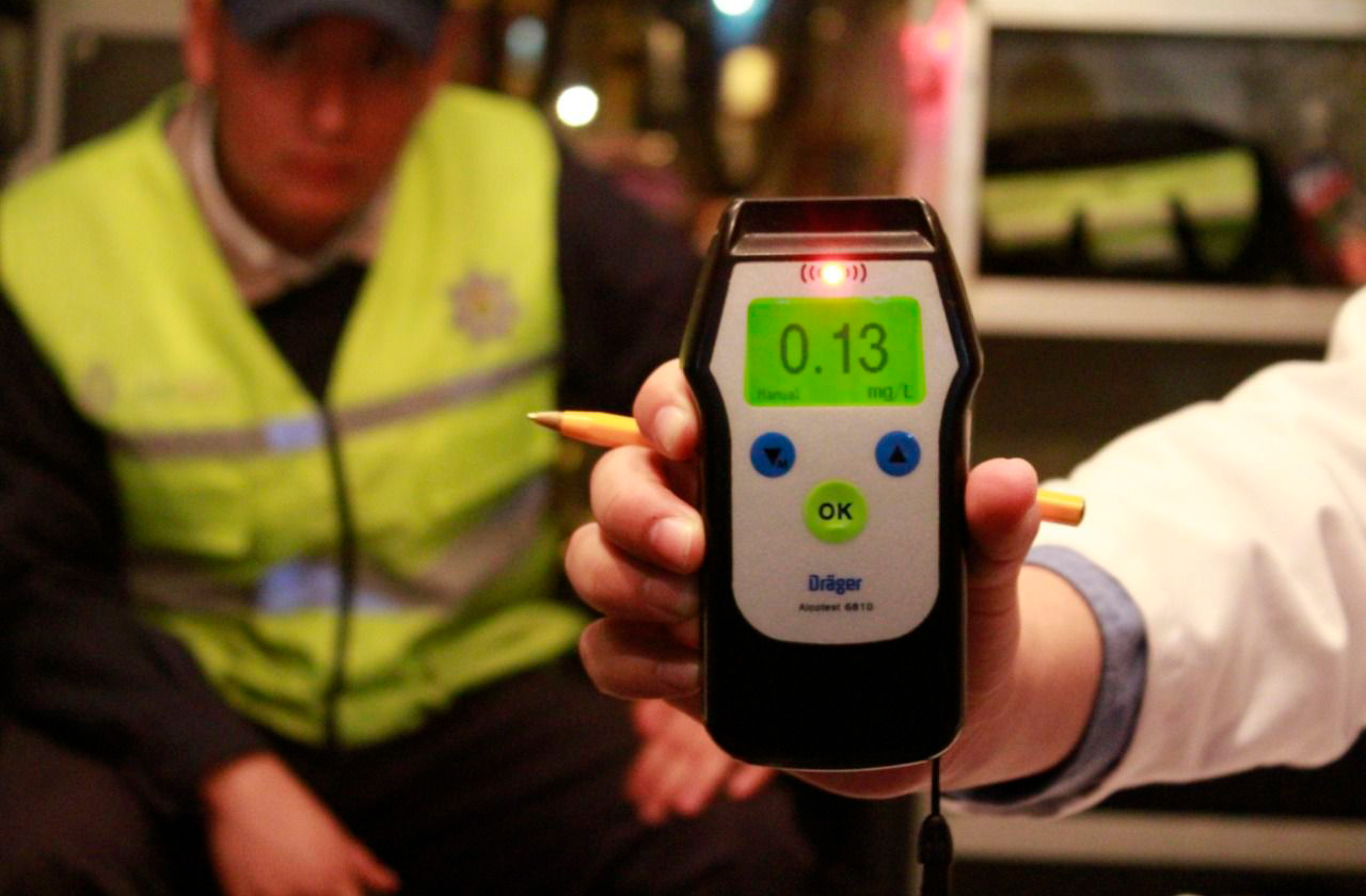 ¿Cruditos? 52 conductores reprobaron alcoholímetro este fin en Xalapa