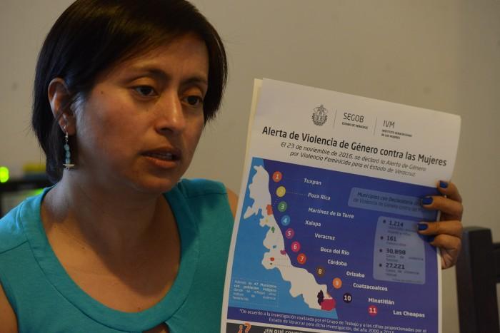 Culpa Gobierno de Veracruz al Congreso local de segunda Alerta de Género