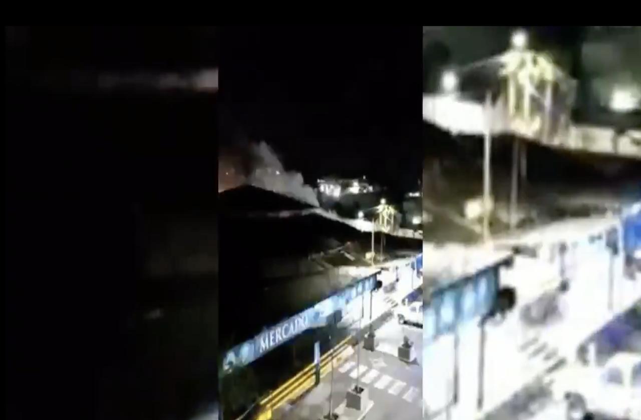 Alerta por conato de incendio en mercado Zapata de Orizaba