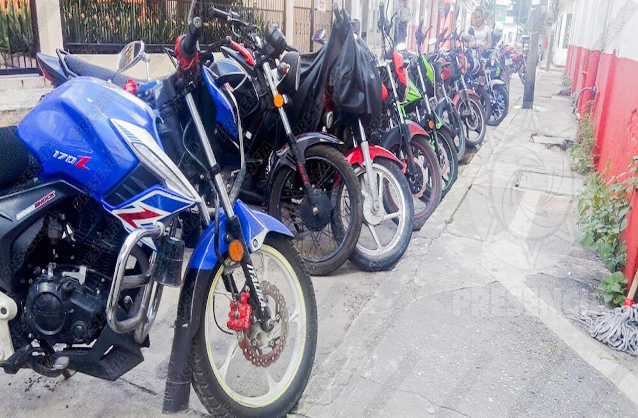 Alertan por robo de motocicletas en este municipio sureño