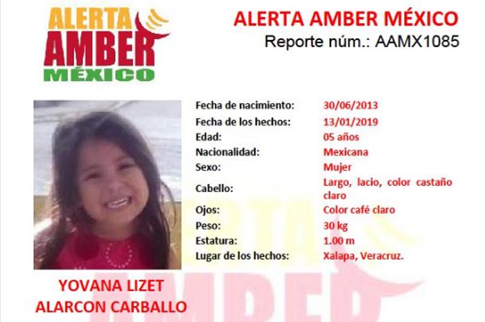 Localizan a hija menor de mujer asesinada en Xalapa