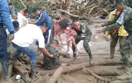 Suman 273 muertos por alud en Mocoa, Colombia
