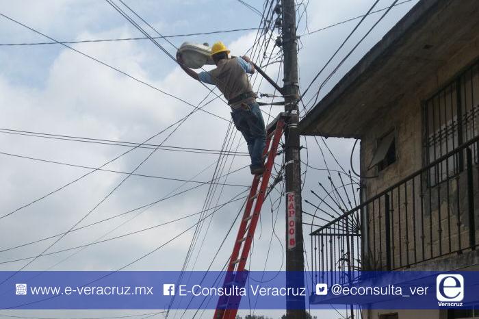 Xalapa: las 10 colonias con más quejas por servicio de alumbrado