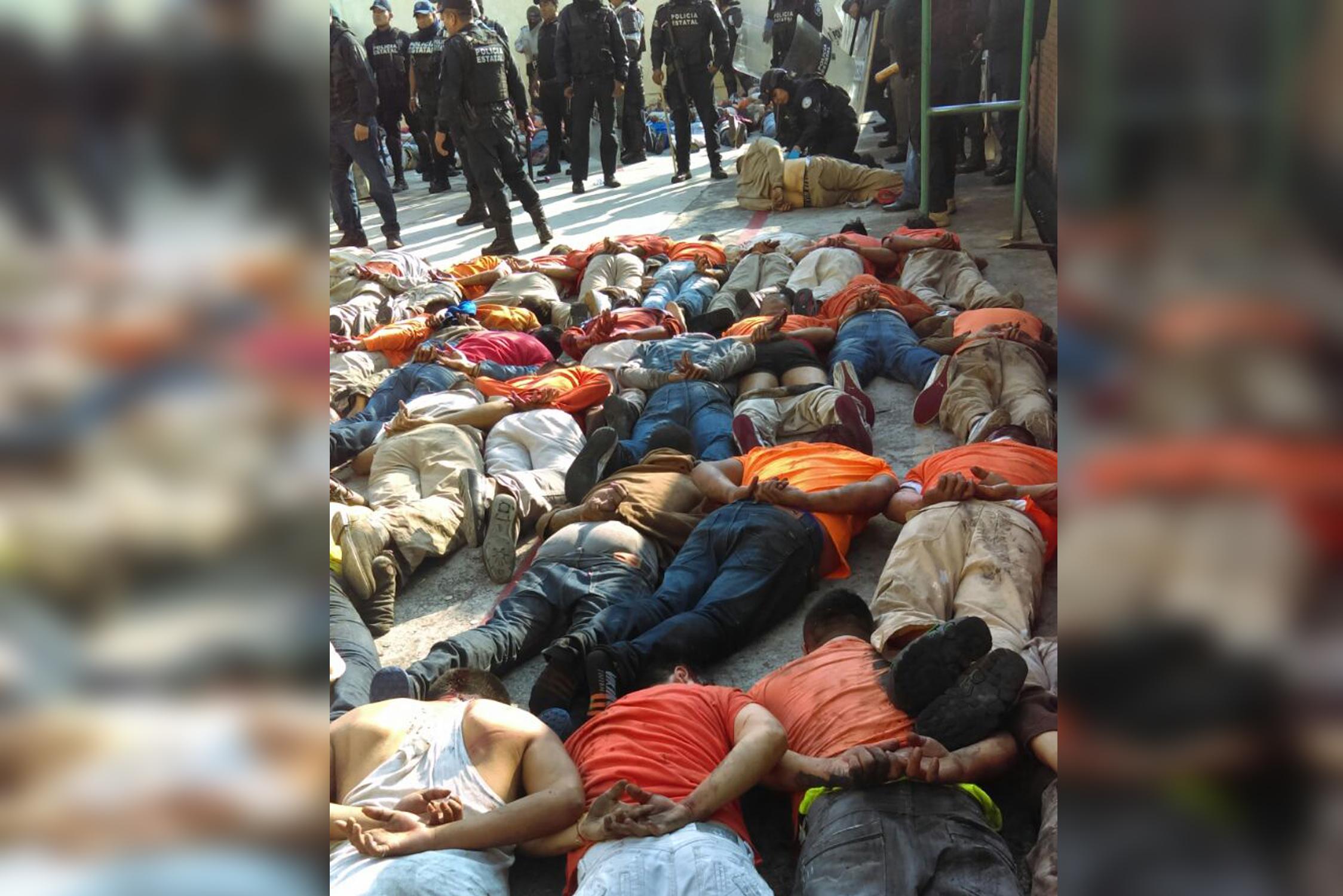 Amparo federal a delincuentes causó motín en La Toma: SSP