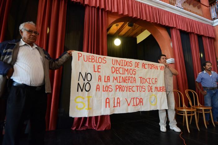 Ambientalistas piden declarar a Veracruz libre de minería tóxica