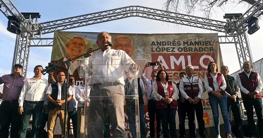 AMLO lleva 11 puntos de ventaja sobre Anaya: Consulta Mitofsky