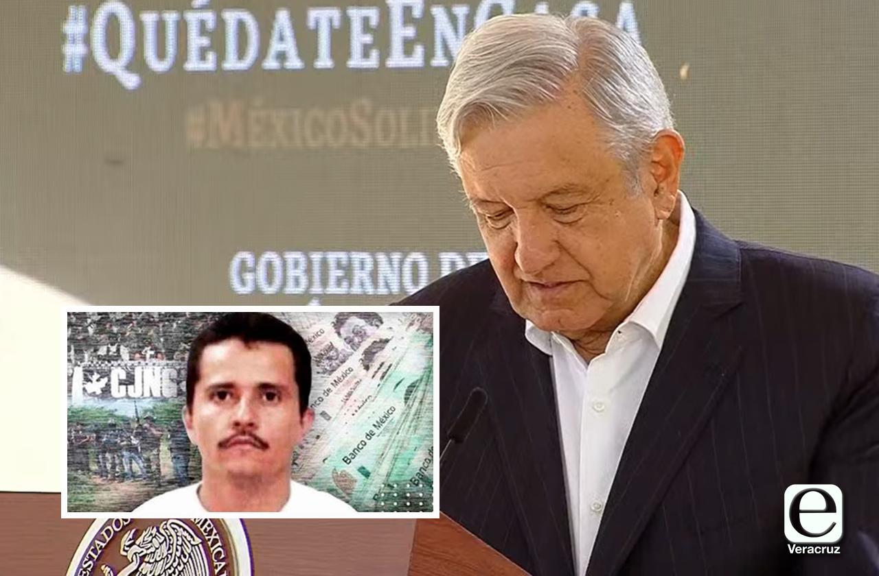 Niega AMLO muerte de El Mencho, en mañanera de Xalapa