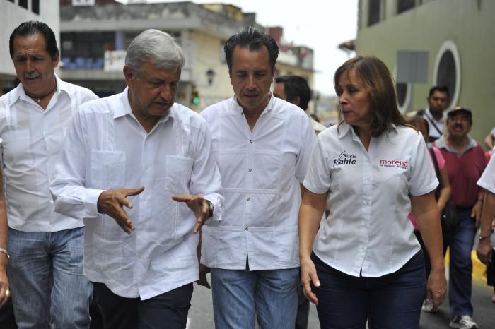 AMLO, Cuitláhuac y Nahle recorrerán la zona centro de Veracruz