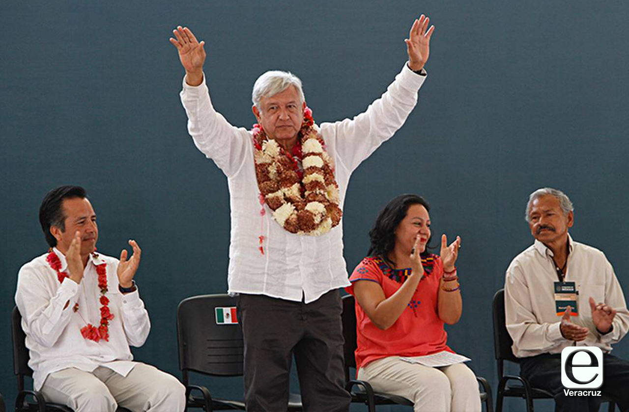 Veracruz, primer destino de AMLO para gira en