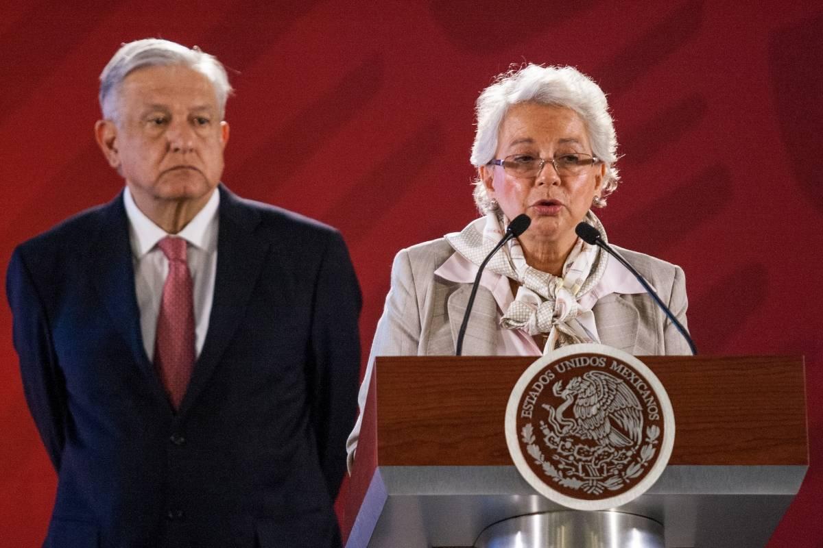 AMLO pide a Segob atender conflicto de maniobristas en Veracruz