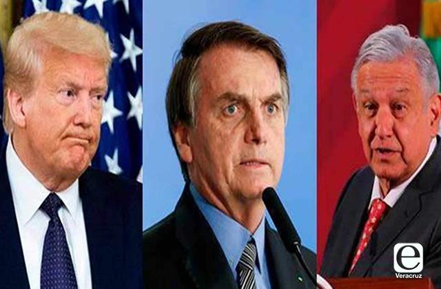 AMLO, Trump y Bolsonaro ganan Anti Nobel en gestión de pandemia