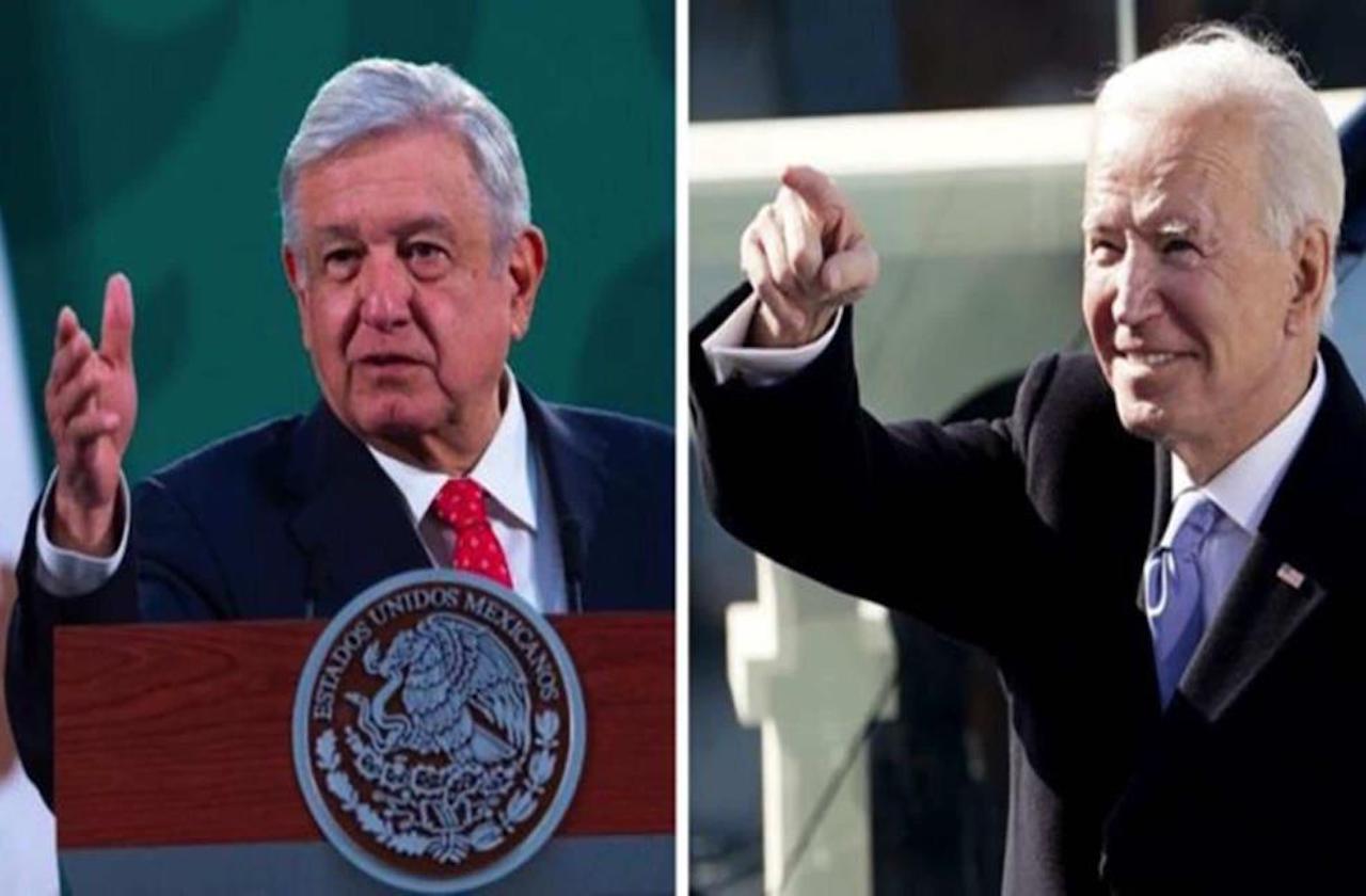 AMLO y Biden acuerdan pacto para hacer frente al covid-19