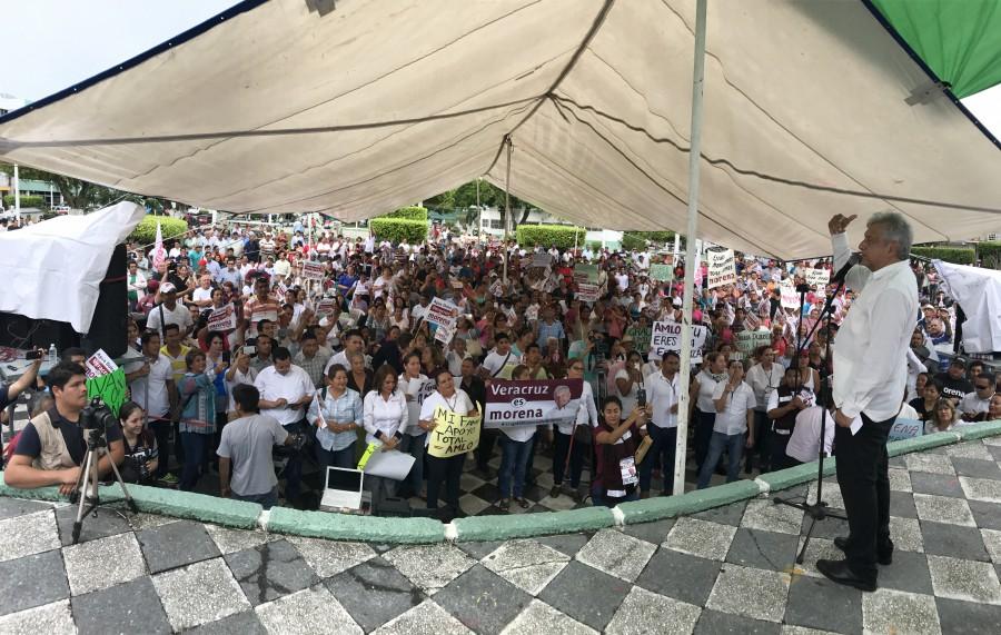 Zavala viajó a EU para pedir que no gane la izquierda: López Obrador
