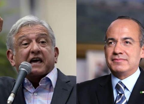 Esto es lo que Felipe Calderón contestó a AMLO sobre huachicoleros