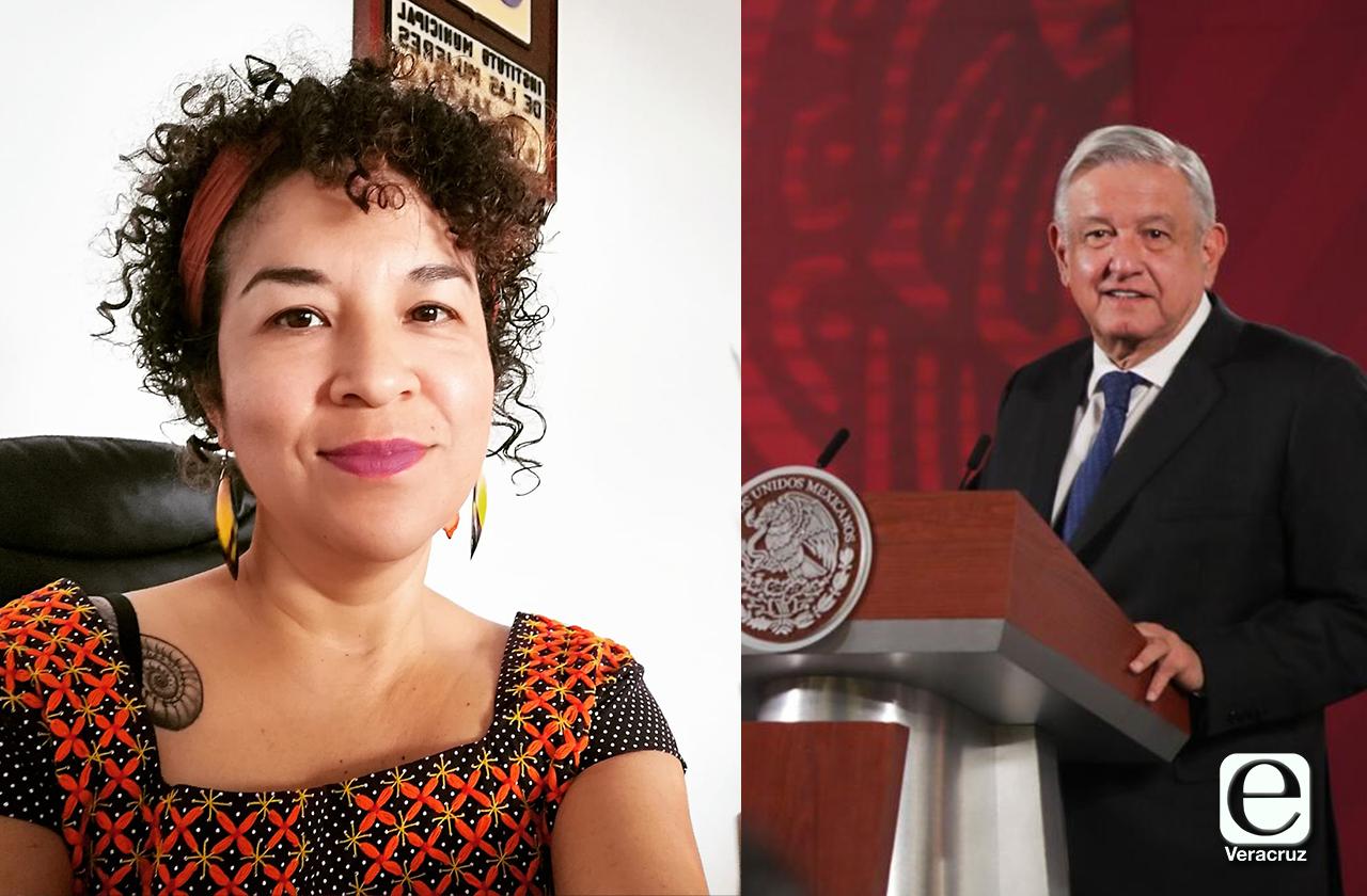 Directora del IMM Xalapa critica a AMLO por mensaje misógino