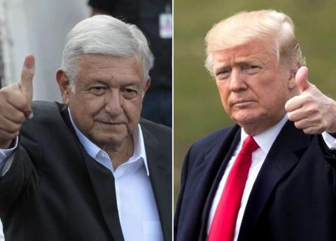 Donald Trump asegura que AMLO ha sido todo un caballero