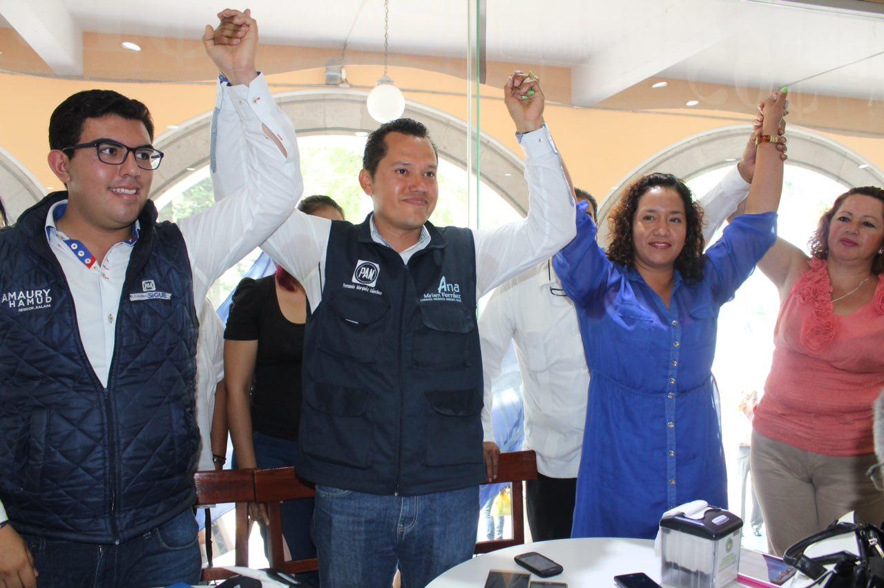 Ana Miriam Ferráez sale limpia en el antidoping: PAN
