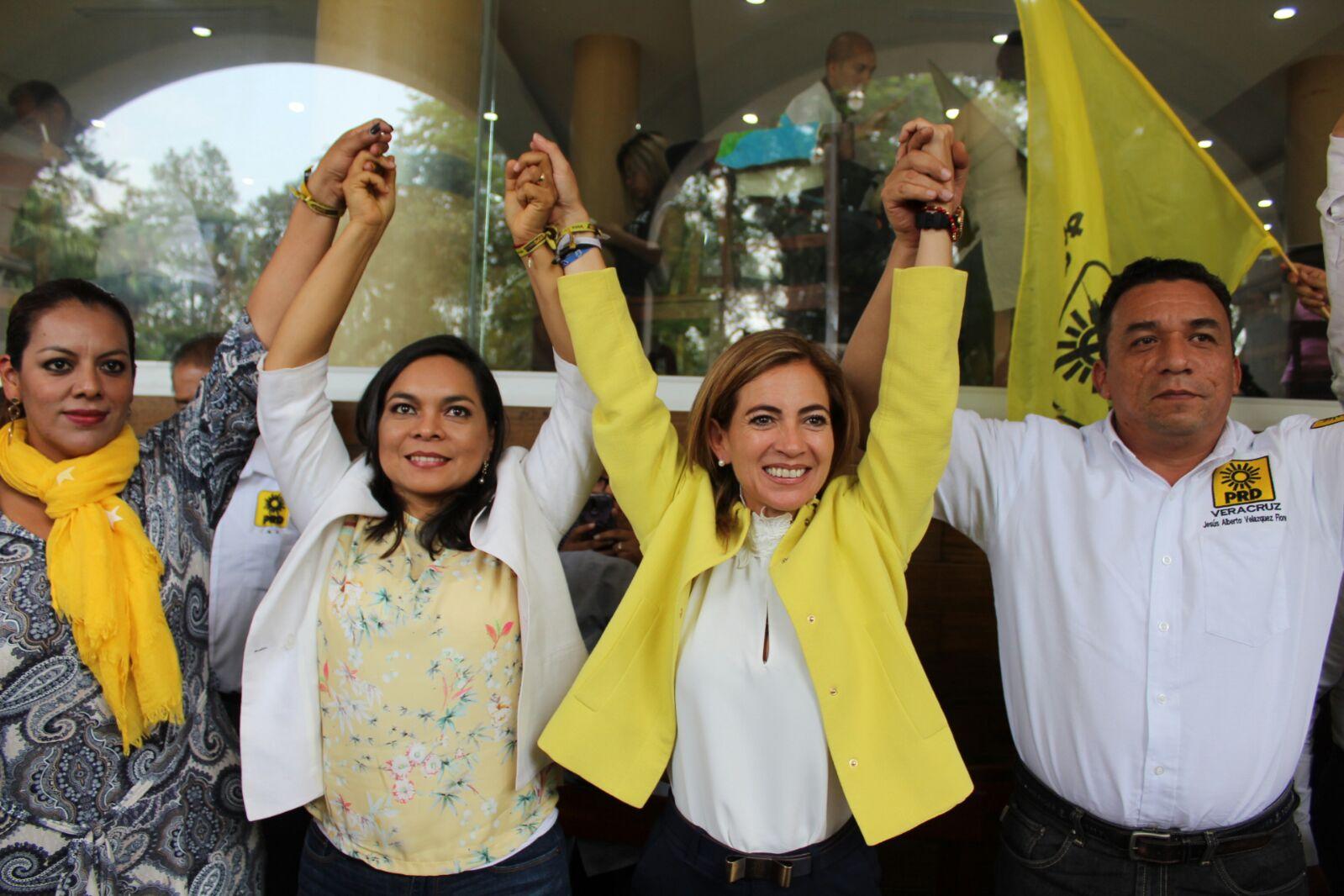 Ana Miriam sacará adelante a Xalapa: Beatriz Mojica