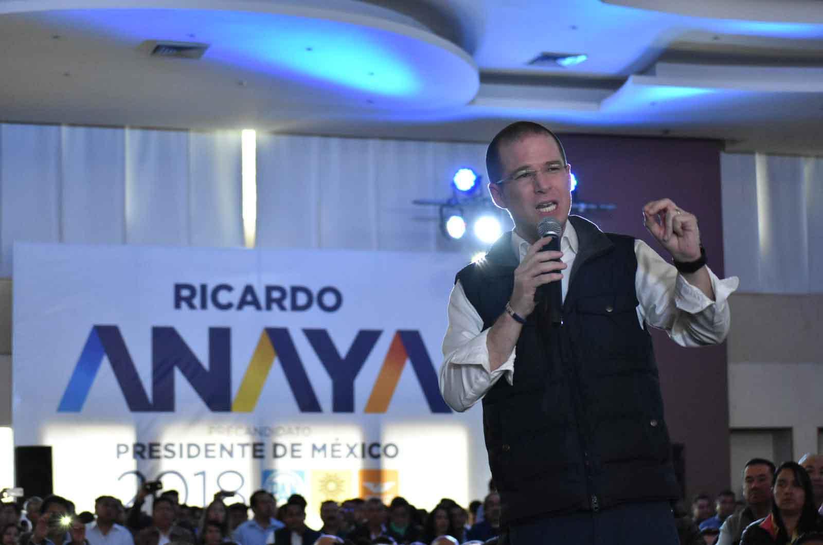 Javier Duarte restará votos al PRI en la elección: Anaya