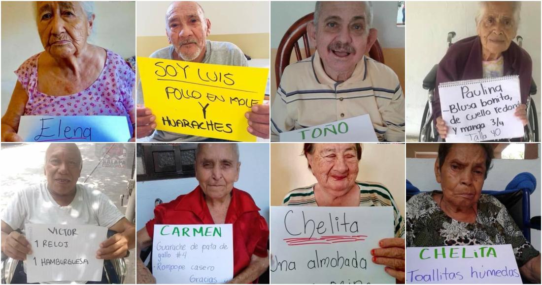 Fake News se hace viral y beneficia a ancianos de asilo en Xalapa