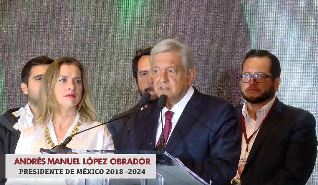 Andrés Manuel López Obrador llama a reconciliación