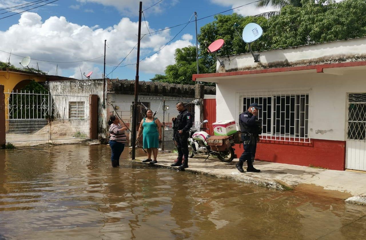 Aprovechan inundaciones para robar en viviendas de Las Choapas