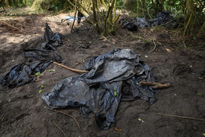 Toman hoy muestras de ADN para identificar restos de fosas en Alvarado