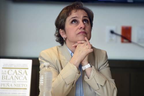Tufillo de inquisición, prohibir prólogo de libro que llevó a Peña a pedir perdón: Aristegui