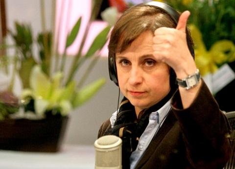 Ilegal, cancelación de programa de Aristegui en MVS: juez