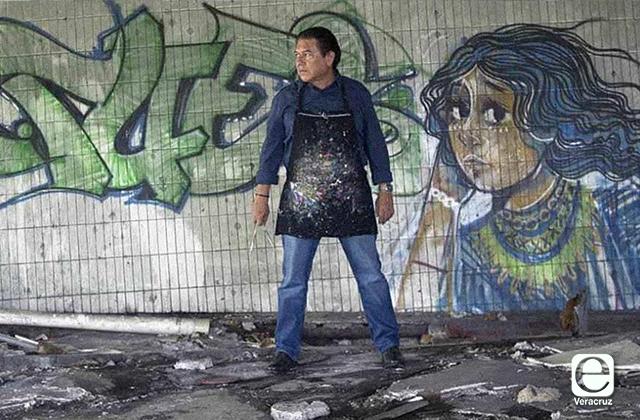 Muere Néstor Andrade, artista plástico jarocho