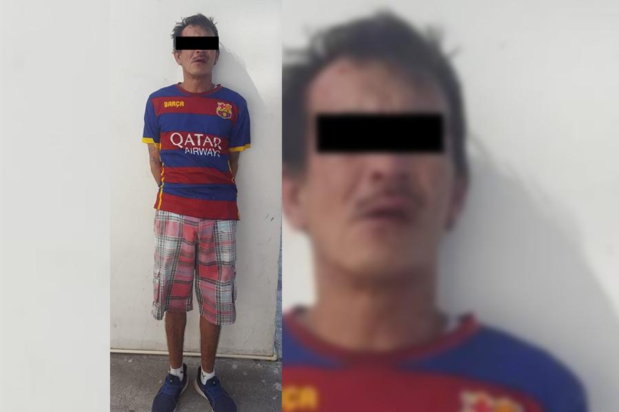 Detienen a Jaime, huía a bordo del taxi que asaltó en Veracruz