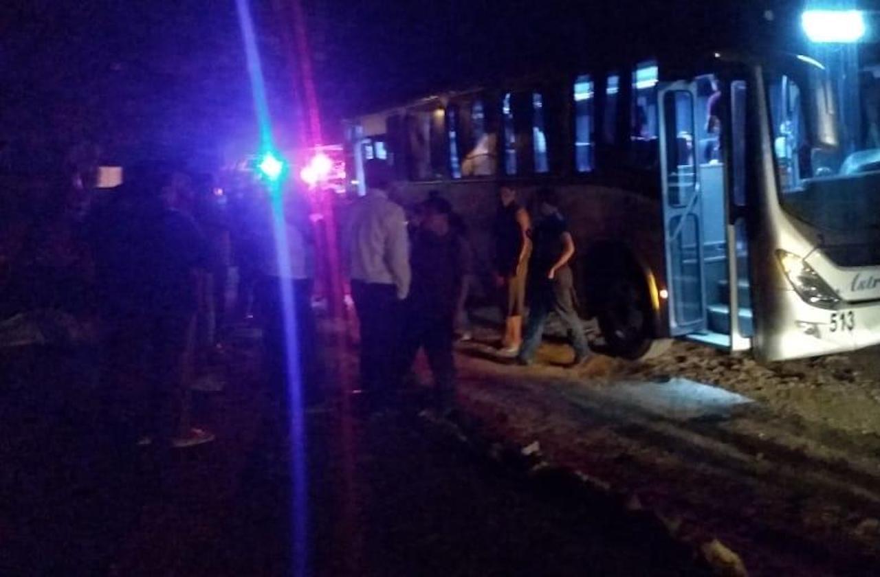 Asaltan autobús en carretera federal Fortín-Huatusco
