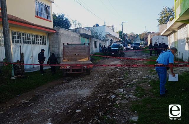Asesinan a familia en Altotonga; niña de 8 años entre las víctimas