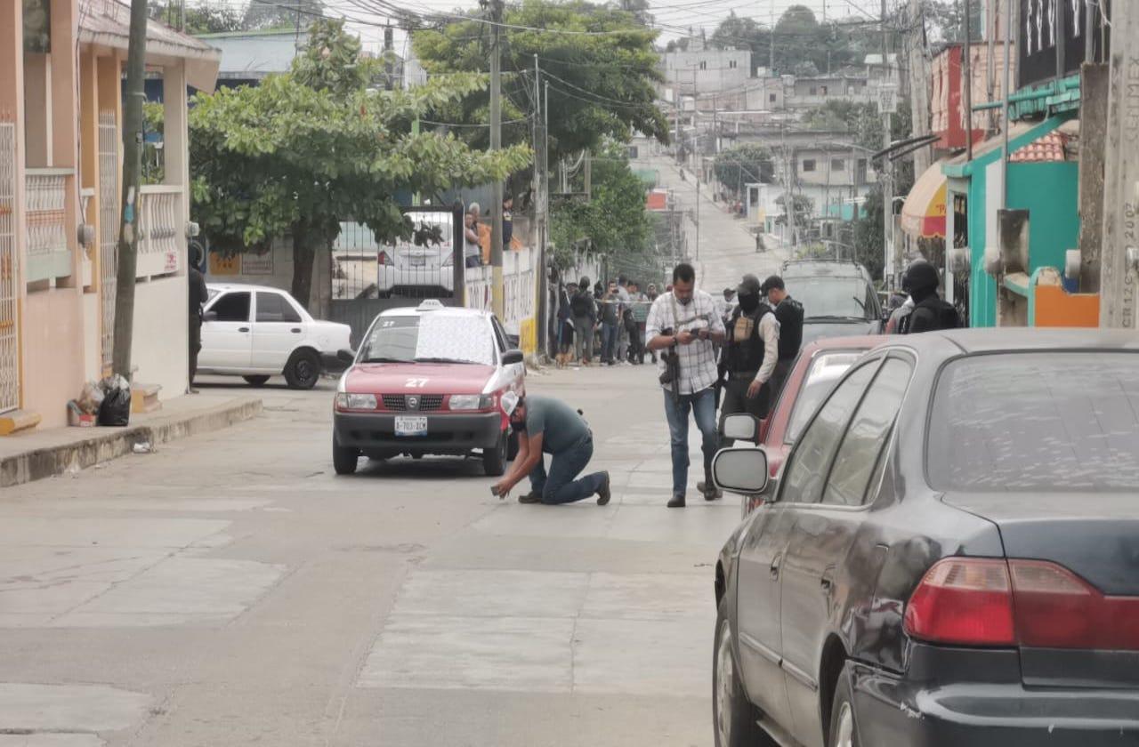 Asesinan a balazos a taxista de Sayula de Alemán