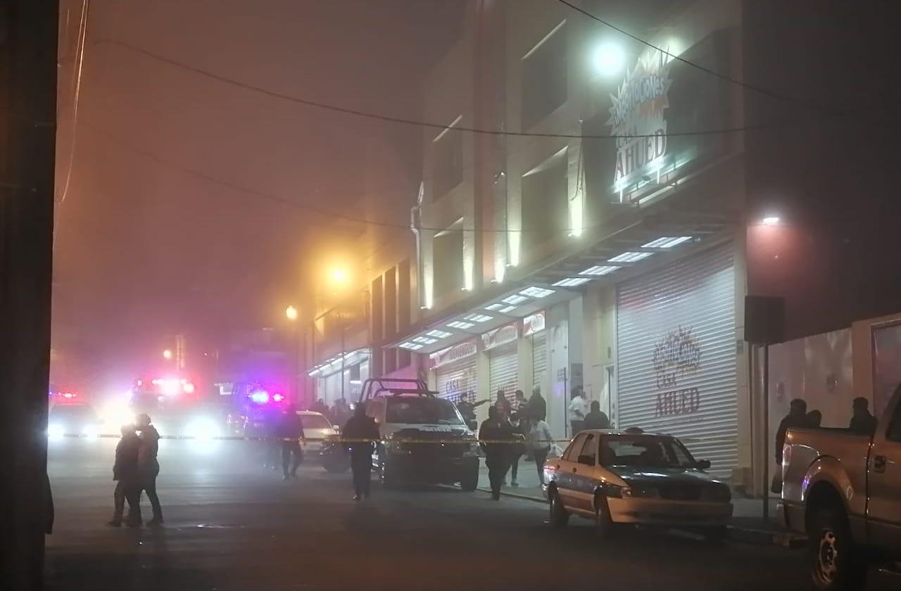 Asesinan a locatario de Plaza Clavijero, en el centro de Xalapa