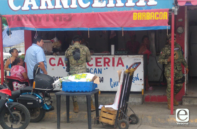 Asesinan a carnicero de Coatzacoalcos
