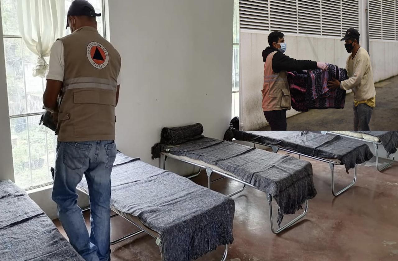 Estos albergues de Xalapa ofrecen refugio ante bajas temperaturas