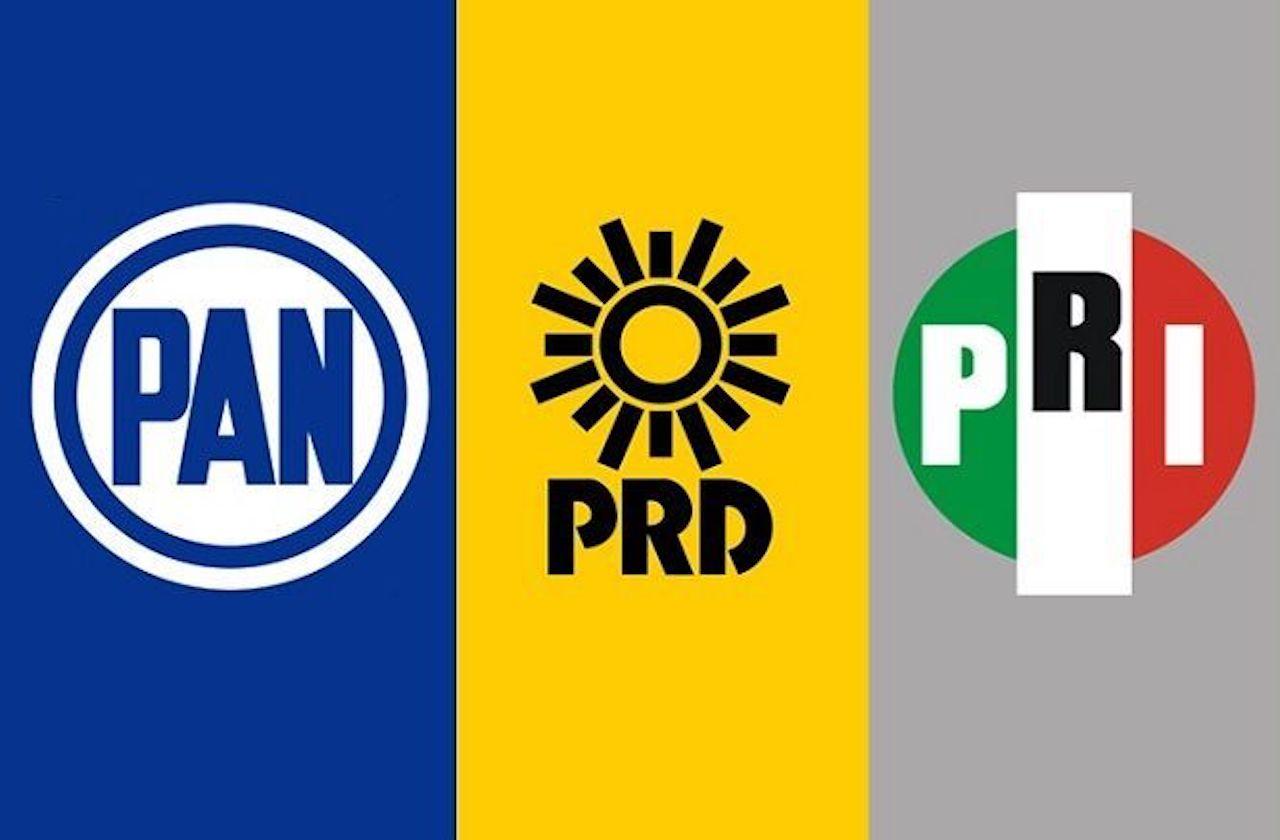 Así se repartirán distritos federales la alianza PAN-PRI-PRD