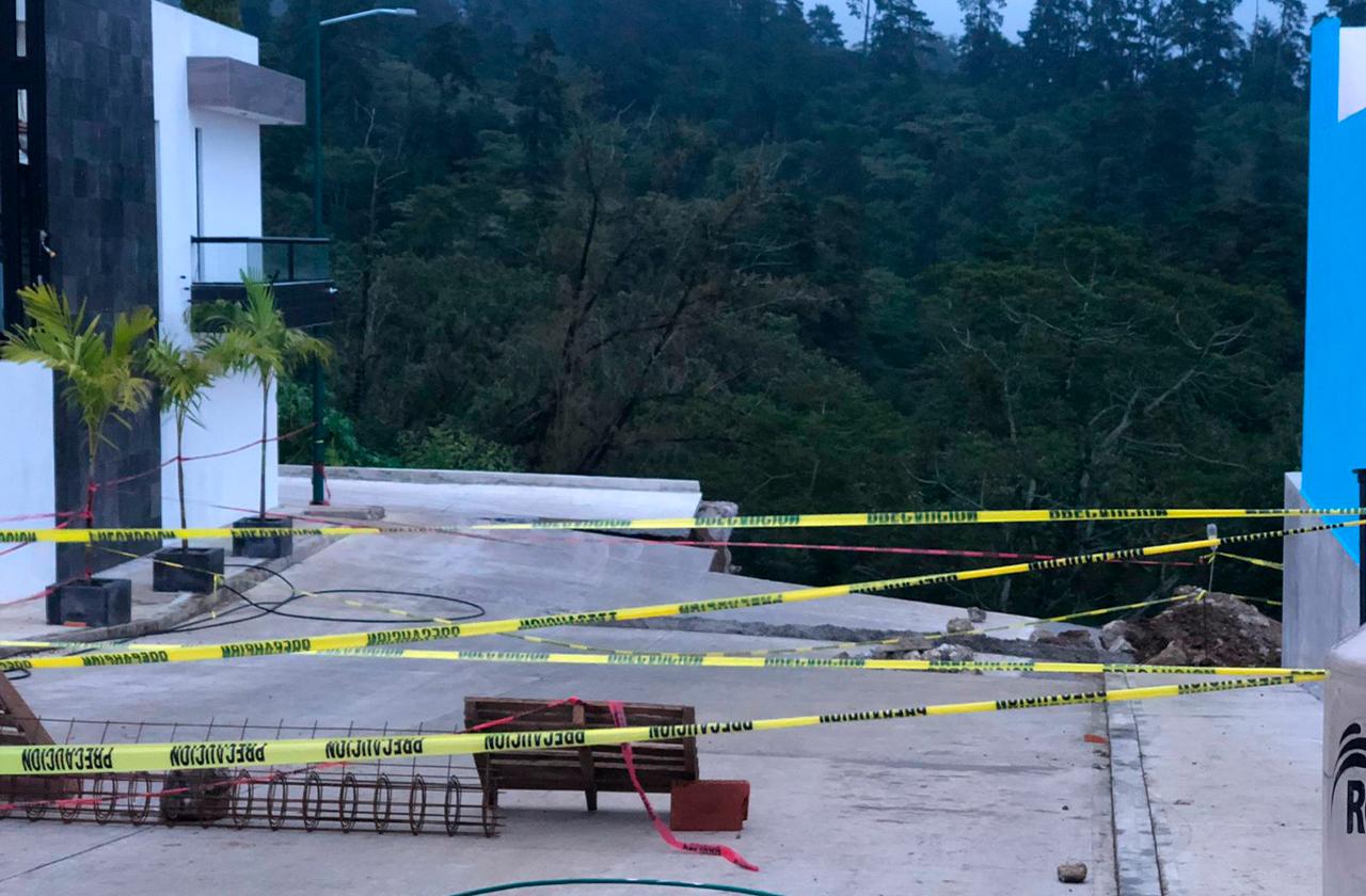 """""""Así no era el proyecto"""": casas al borde del colapso en Lucas Martín"""