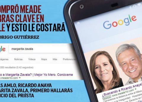 ¿Cuanto le costará a Meade la compra de palabras clave en Google?