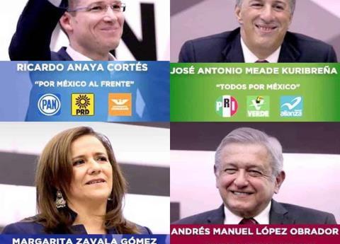 ¿Cómo quedó la boleta electoral por la Presidencia de México?