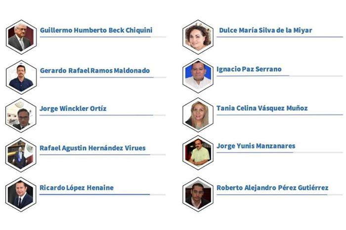 Congreso de Veracruz publica nombres de candidatos a la FGE