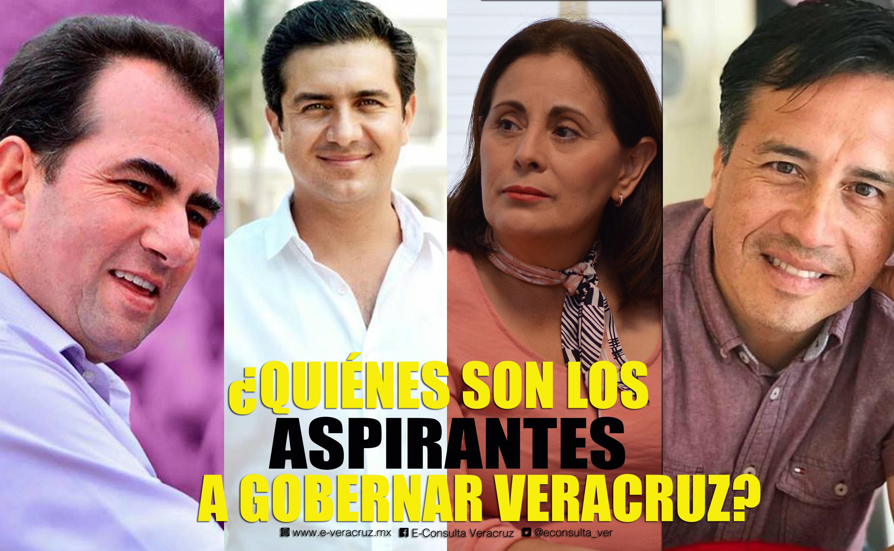 Conoce los perfiles de los candidatos a gobernador de Veracruz