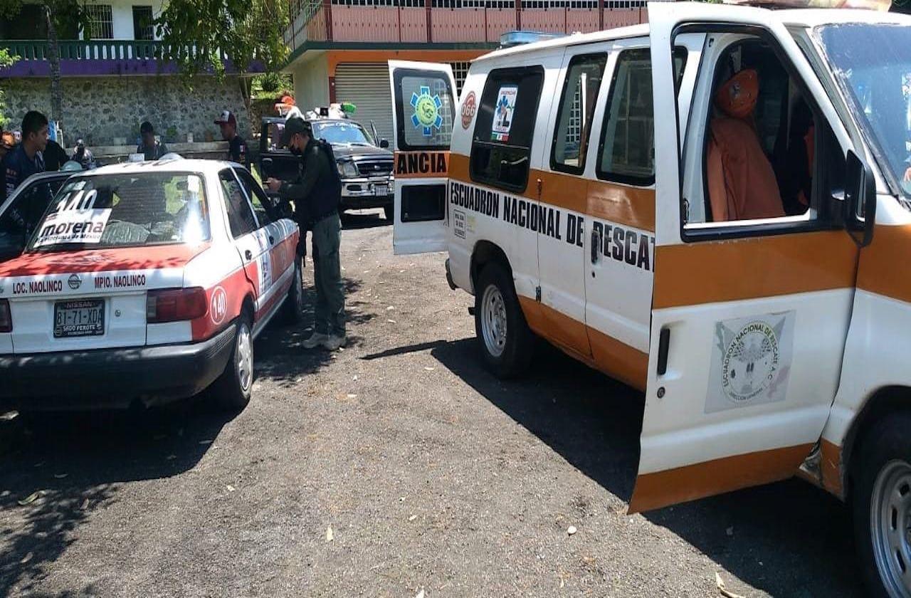 Atacan a balazos a taxista en Jilotepec; se reporta delicado