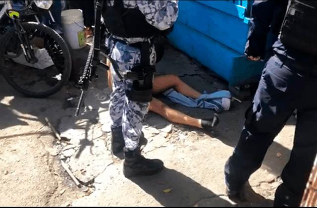 Atan a poste a presunto ladrón, en el Puerto