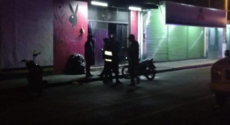Ataque en bar de Paso del Macho deja un muerto
