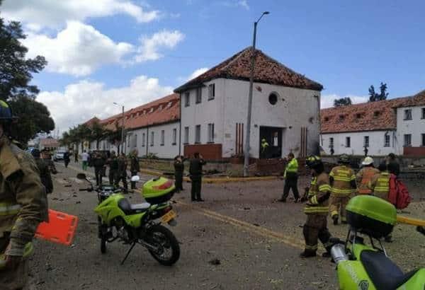 Colombia de luto, ya suman 21 muertos tras atentado en escuela de Bogotá