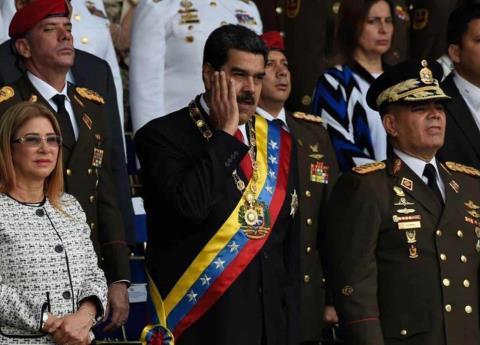 Venezuela: siete heridos por atentado contra Maduro